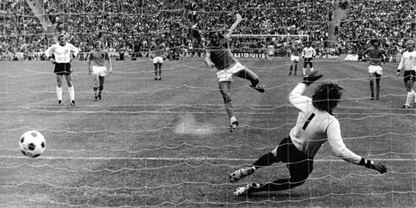 Johan Neeskens BRD Niederland Finale Fußball WM 1974